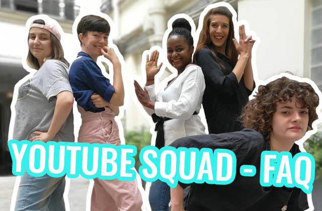 Le YouTube Squadrépond à vos questions!