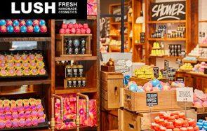 Lush se met aux produits sans emballages pour éviter les déchets