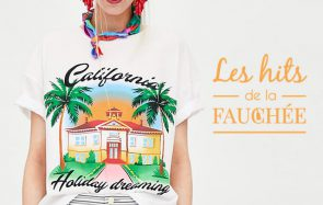 Des t-shirts cartes postales pour fêter le début de l'été — Les 10 Hits de la Fauchée