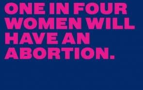 Aux États-Unis, les femmes défendent leur droit à l'avortement avec #OneInFour