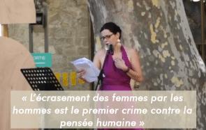 « Je ne veux plus être la bouffonne du Roi», assène une comédienne à Avignon