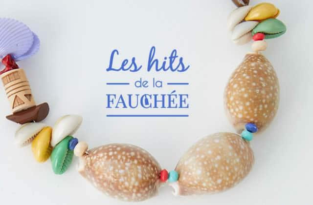 10 bijoux coquillages pour te sentir toujours à la plage — Les Hits de la Fauchée