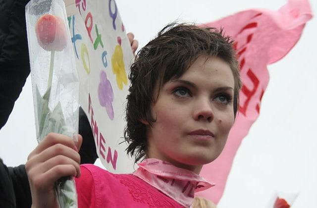 Oksana Chatchko, artiste et cofondatrice des FEMEN, s'est donné la mort