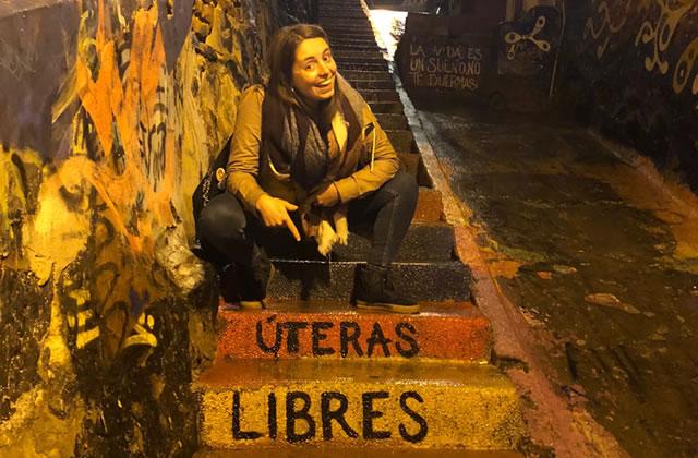 Esther est partie au Chili, rencontrer un tas de jeunes femmes badass !