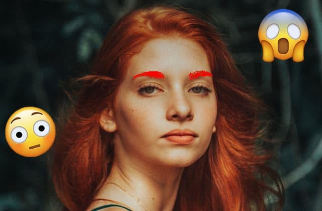 Quel est le meilleur moyen de maquiller des sourcils roux?