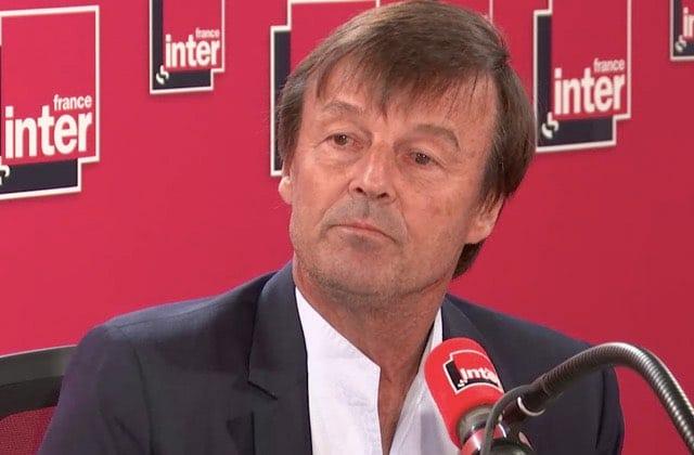 Nicolas Hulot annonce sa démission en direct: «Je ne veux plus me mentir»