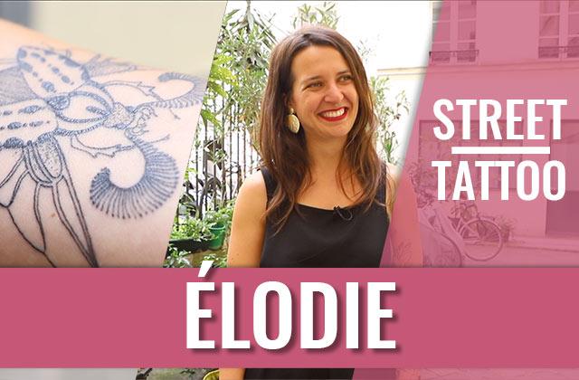 Élodie et ses tatouages en équilibre — Street Tattoos