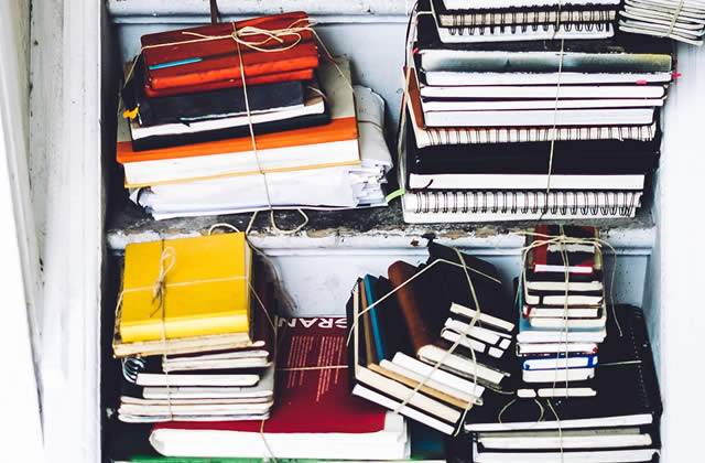 Treize façons de remplir tes carnets