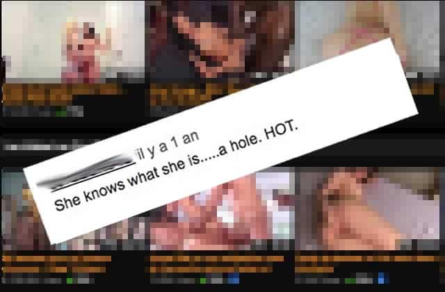 Je suis dégoûtée du porno après avoir lu les commentaires sous les vidéosX