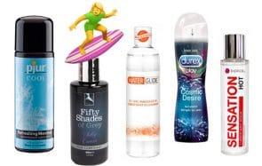 7 lubrifiants pour tous les goûts (attention ça glisse!)