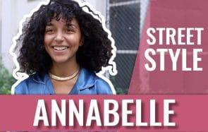 STREET STYLE — Annabelle a.k.a A.I.M, amoureuse des fripes!