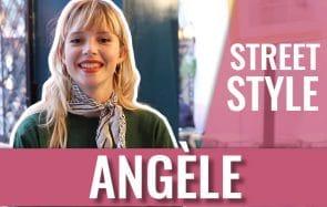 Angèle en Street Style : à l'aise et confortable dans ses fringues !