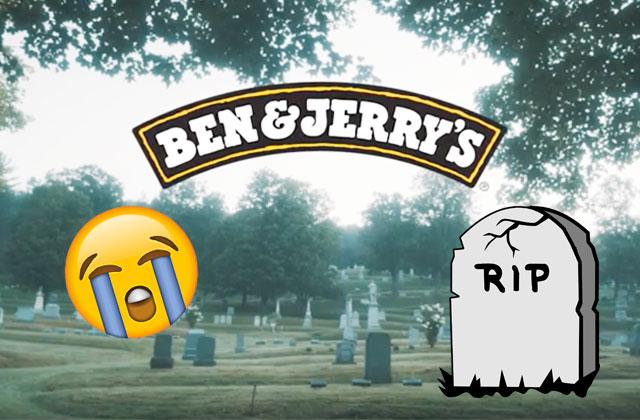 L'enterrement de Ben & Jerry's : sortez les mouchoirs