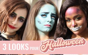 Inspire-toi de ces 3 looks effrayants pour Halloween!