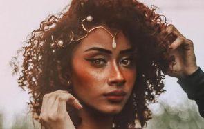 Du maquillage métallique cuivre et bronze pour te transformer en fée de l'automne