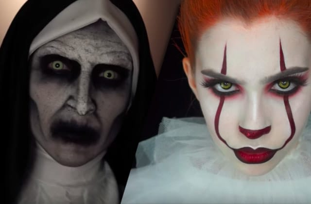 13 maquillages d'Halloween effrayants venus de YouTube