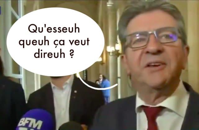 Jean-Luc Mélenchon, sacrément odieux face à une journaliste toulousaine