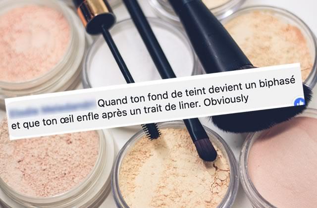 Best-of des coms #73:erreur de crush et maquillage pourri