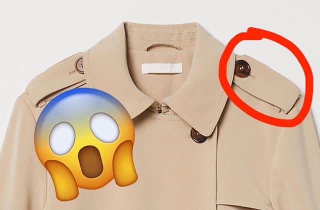 VOILÀ à quoi servent les bretelles d'épaules sur les vestes!