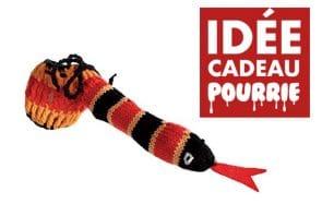 Un cache-zizi serpent, l'idée cadeau très pourrie pour Noël