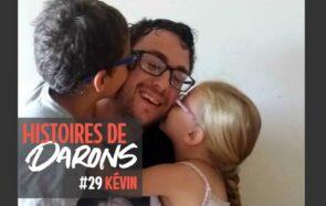 Kévin a rencontré son fils à un mois et demi