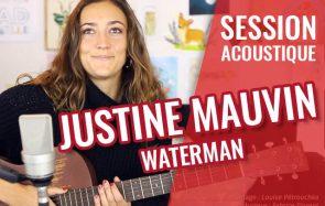 Surfeuse et chanteuse, Justine Mauvin rend hommage à l'eau, son élément de prédilection