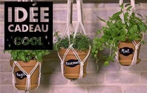 Une suspension pour plante, l'idée cadeau qui va enchanter tous tes bobos d'amis !