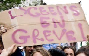 Les lycéens appellent au blocage contre le Service Universel, le 30 novembre