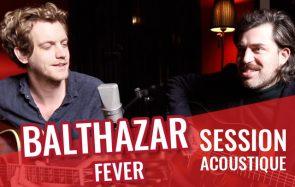 Mon groupe préféré du moment, Balthazar, en session acoustique!