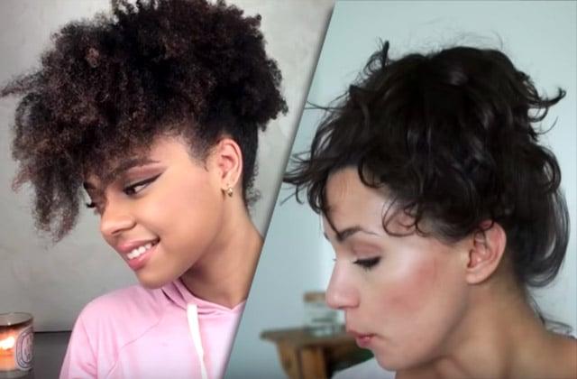 Idees De Coiffures Pour Cheveux Mi Longs Lisses Fins Et Crepus