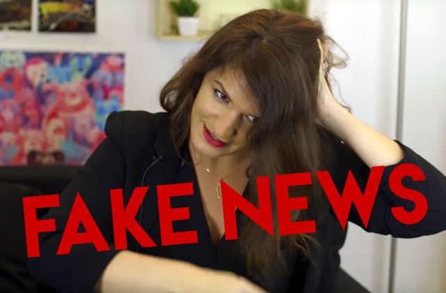 Non, Marlène Schiappa n'a pas fait un tuto coiffure en vidéo