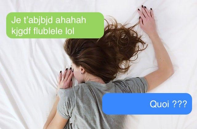 Fais-tu partie de ces gens qui envoient des textos dans leur sommeil ?