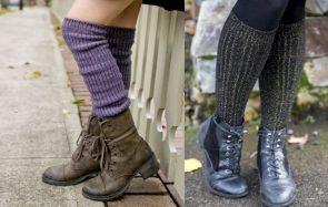 9 paires de chaussettes hautes, «grande taille», et pas chères