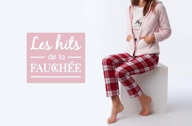 10 pyjamas soldés dans lesquels t'emmitoufler