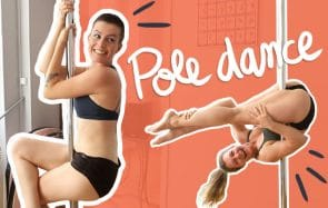 Je teste la pole dance !