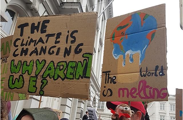 La mobilisation des jeunes Belges pour le climat, inspirante et puissante