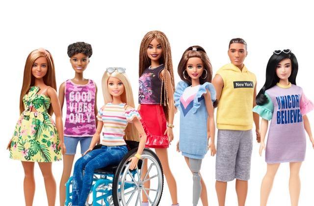 De nouvelles Barbie arrivent, pour plus d'inclusivité