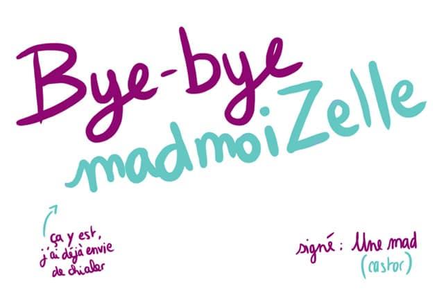 Bye-bye madmoiZelle, le strip d'au revoir de Léa Castor