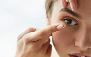 Conseils maquillage lentilles de vue