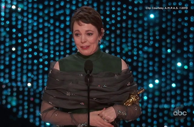Le discours drôle et émouvant d'Olivia Colman, primée aux Oscars