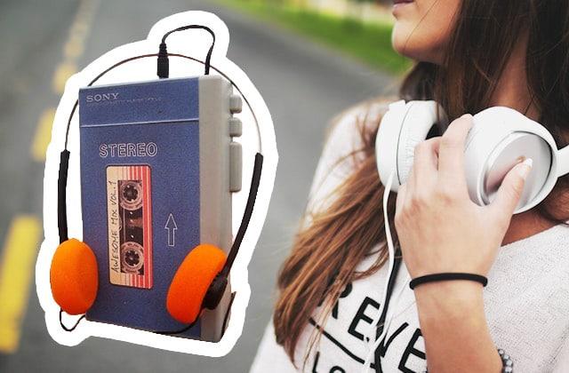 Tu veux un walkman? Parce que la K7 audio est de retour!