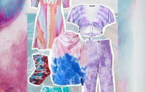 La tendance Tie & Dye revient en force cet été 2020