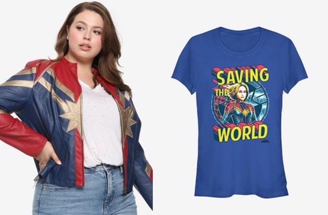 Deviens une super-héroïne avec la collection Captain Marvel!