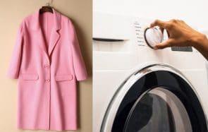 Comment et à quelle fréquence faut-il laver son manteau ?