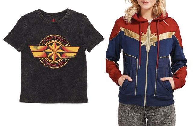Disney sort une collection CAPTAIN MARVEL, entre girl power et 90's !