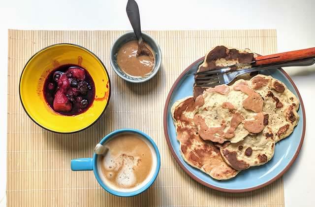 La recette des banana pancakes, pour écouler tes bananes trop mûres