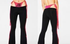Le pantalon effet «culotte qui dépasse», la tendance inattendue