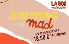 Commande la box de juin Burning mad, le kit de survie pour les festivals !