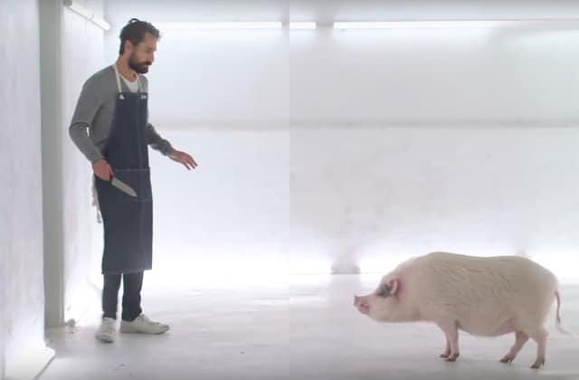 Tu mangerais du cochon, si tu devais le tuer toi-même?