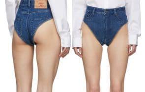 La culotte en jean, sous-vêtement ou short très court ?